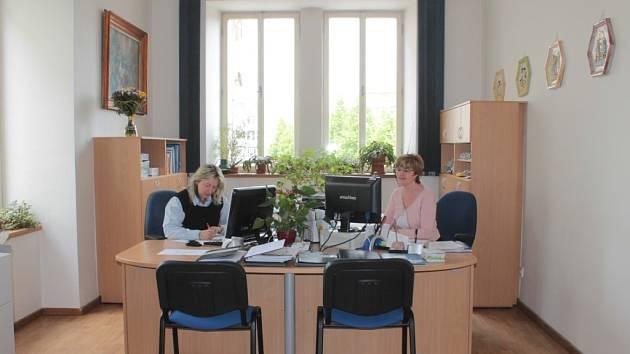 Kancelář starosty Benešova.