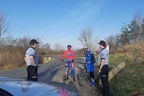 Informování cyklistů.