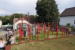 Dožínky v Přestavlkách u Čerčan.