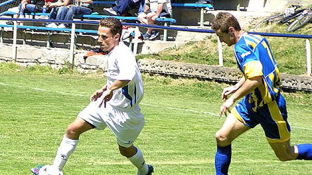 Fotbal v Choceradech