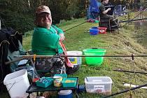 Pátého ročníku soutěže v rybaření se zúčastnili především kladrubští rybáři.