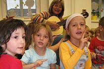 Hudební výchova v MŠ Berušky v Benešově