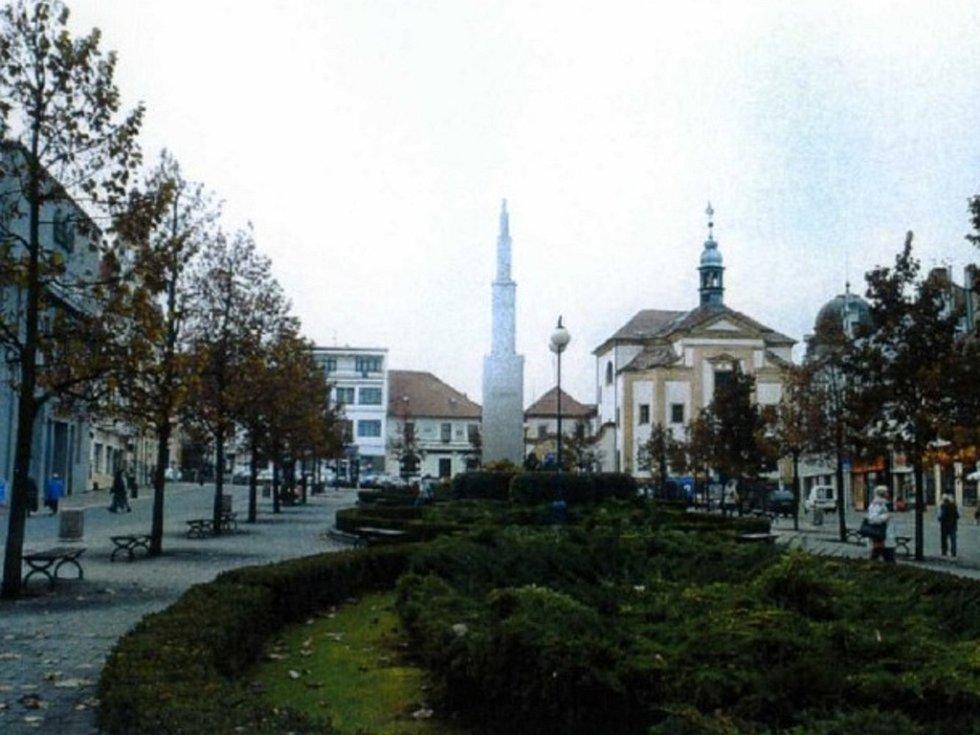 Masarykovo náměstí v Benešově a návrhy na jeho proměnu.