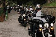 Motocykly Harley - Davidson na Konopišti.