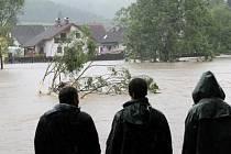 Povodeň na řece Sázavě zaplavila na Benešovsku v posledních letech několikrát i domy v Nespekách.