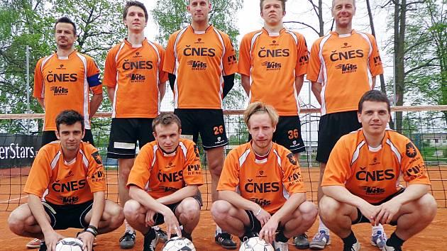 Extraligové družstvo Šacungu Benešov.