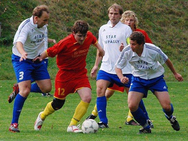 Na sedmém řádku 8. kola tipovací soutěže Fortuna ligy byl zápas Tupadly versus Trhový Štěpánov. Většina tipérů věřila domácím, což se také nakonec stalo.