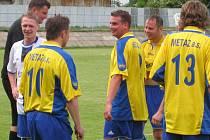 Ze zápasu Týnec nad Sázavou – FC Jílové