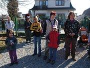 Vynesením Morany se děti z divišovské základní školy rozloučily se zimou.
