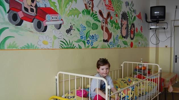 Dětské oddělení benešovské nemocnice.