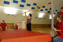 V ZŠ Bystřice se konala  soutěž v skoku vysokém Bystřická laťka 2019