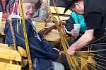Velikonoční jarmark ve Vlašimi si návštěvníci užívali.