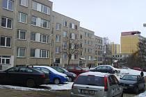 Bytové domy ve Vlašimi.