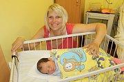Druhé narozené mimčo v nových porodních boxech benešovské porodnici je Marie Doležalová, která těší své rodiče Martinu a Jana Doležalovi z Olbramovic od 14. dubna. Marie při narození v 15.07 měla 3 280 gramů a 49 centimetrů. Doma čekali Jan(6) a Karel(1,5