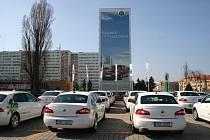 Vozy Škoda Superb Green Line, které Škoda Auto zapůjčila vládě