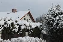 Sněhová nadílka z 20. března.