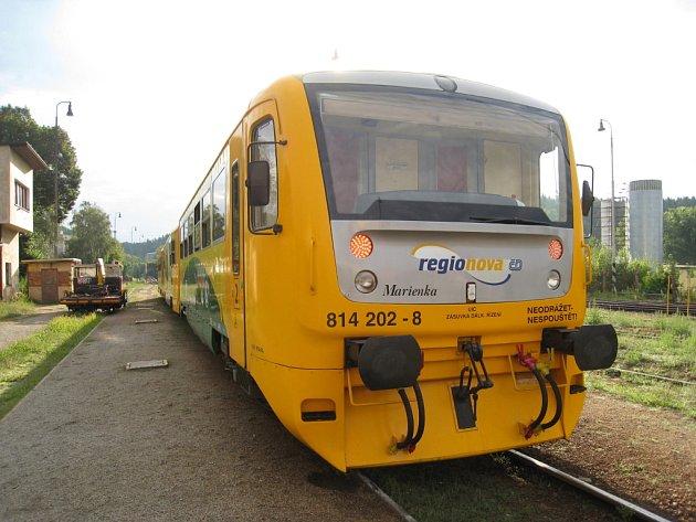 Vlak Regionova.