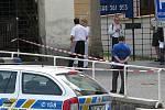 Na Masarykově náměstí je nahlášená bomba.