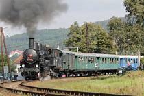 Na pouť do Sázavy poveze zájemce parní vlak.