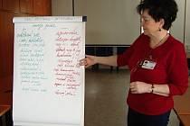 Úvodní seminář vedla nemocniční psycholožka Irena Lesová.