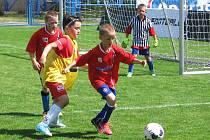 Velký stimul mladým fotbalistům, od osmi do třinácti let, v celé republice dává již šestý rok Ondrášovka cup, jejíž jedno finále se hraje v Benešově.