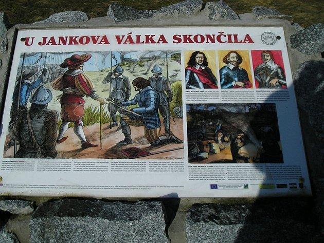 Památnou bitvu připomíná na poli mezi Jankovem a Ratměřicemi mohyla a pietní zákoutí.