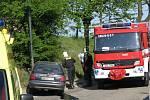 Dopravní nehoda v Chrástu
