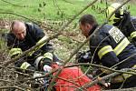 Odborná příprava členů Jednotek požární ochrany obce a členů Sborů dobrovolných hasičů na Benešovsku.