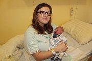 Manželé Simona a Martin Kačenovi se od 8. ledna radují z prvorozeného synka Matěje. Ten při narození v Benešově ve 4.18 měl 3 100 gramů a 51 centimetrů. Rodina bude společně žít ve Vlašimi.