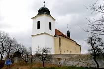 Kostel Narození Panny Marie ve Vysokém Újezdu.