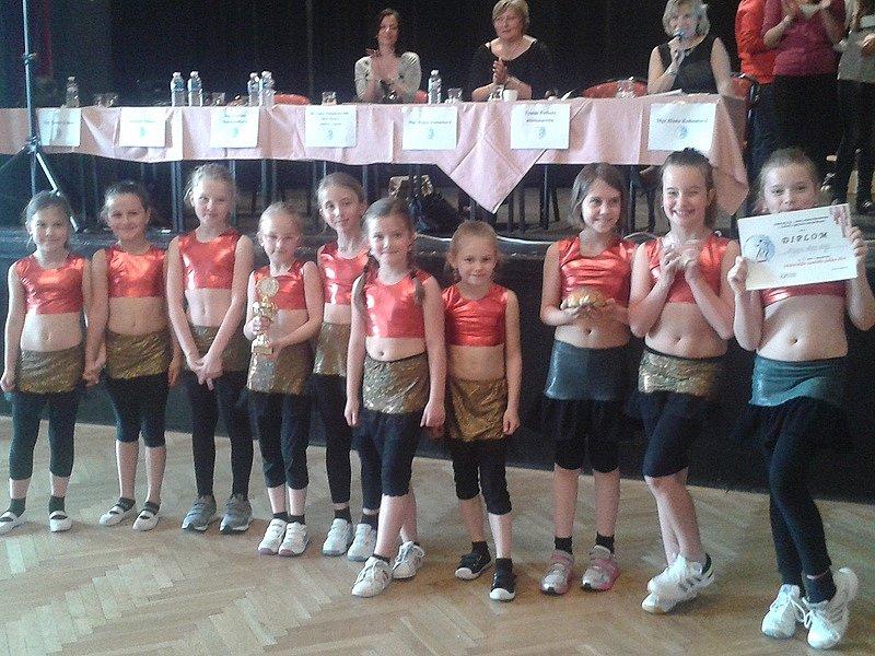 Šestý ročník tanečního poháru v Benešově.