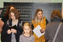 Den otevřených dveří v Základní škole Dukelská v Benešově.