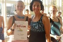 Střední odborná škola Černoleská pořádá pravidelně plavecké závody pro studenty středních škol.