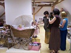 Panenky uvidí návštěvníci také ve Zruči nad Sázavou.