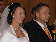 Kristýna a Petr užívají od pátku společné přijímení Hamaček.