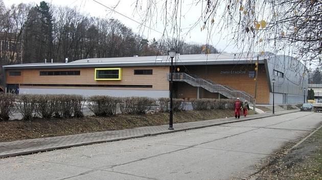 Zimní stadion ve Vlašimi.