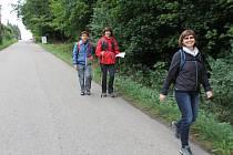 Pochod přes Čtyři zámky se koná v Týnci nad Sázavou přes půl století.