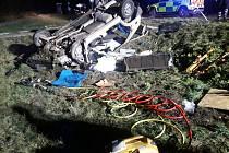 Vážná dopravní nehoda dvou osobních automobilů na Benešovsku.