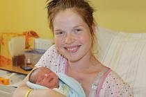Štěpánka Zimová a Karel Kubát se 30. září stali rodiči chlapečka Matěje, který se narodil ve 23.17. Na svět přišel s váhou 2,88 kilogramu a mírou 47 centimetrů. Doma v Liběnici má brášku Davida (5).
