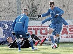 Vlašimští fotbalisté sehráli v zimní přípravě i zápasy Tipsport ligy, kde se střetli i s ligovými Českými Budějovicemi, se kterými prohráli 1:4.