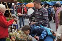 Farmářský trh v Benešově.