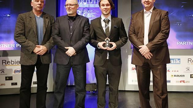 V roce 2013 se stal sportovcem Benešovska freestylový motokrosař Libor Podmol (třetí zleva).