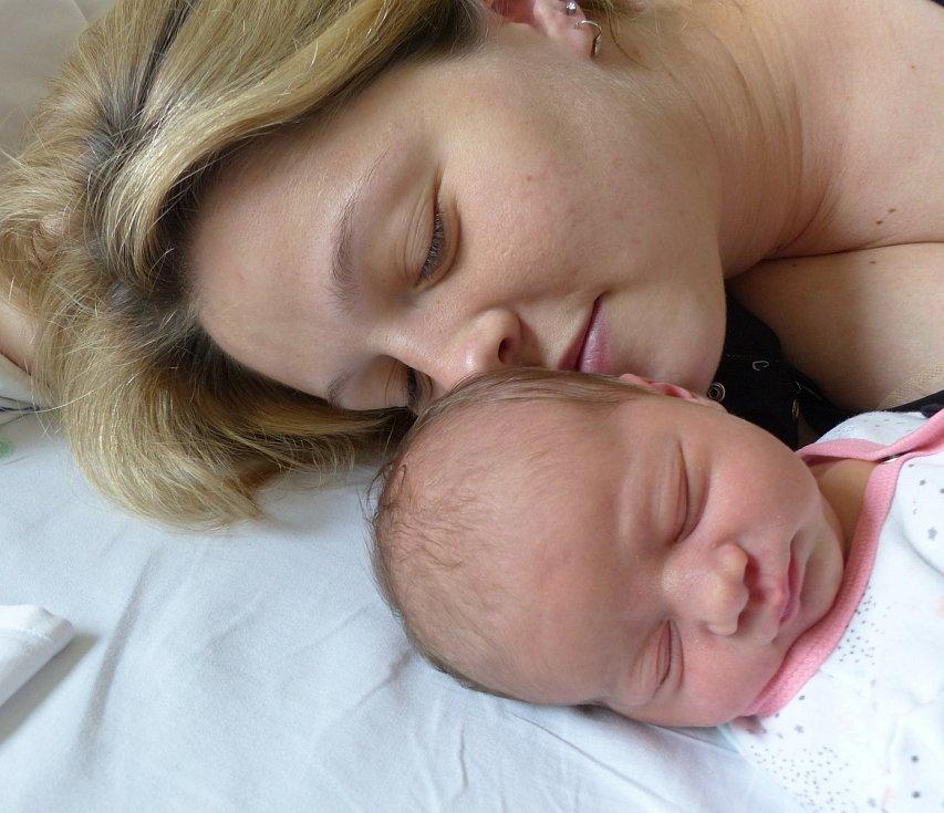 Natálie Švábová se narodila 27. dubna 2021 v kolínské porodnici, vážila 3480 g a měřila 50 cm. V Kolíně ji přivítala sestřička Ema (4.5) a rodiče Jana a Adam.