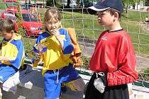 Divišovší žáci při loňském turnaji v Benešově.