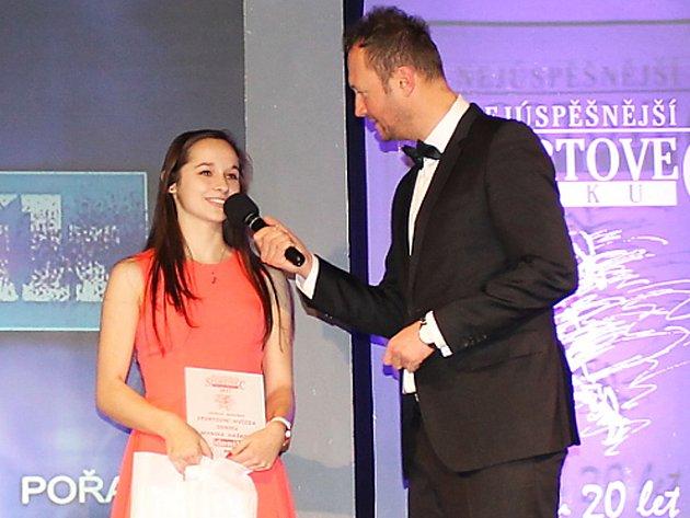 Florbalistka Monika Hašková se stala díky čtenářům Hvězdou Benešovského deníku.
