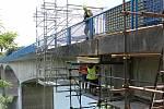 Rekonstrukce mostu přes Želivku.