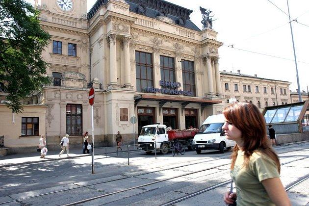 Nádraží v Brně