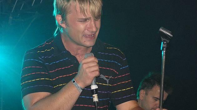 Kryštof Michal na loňském Sázavafestu.