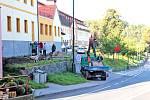 Rekonstrukce domu u týnecké Benešovské ulice.