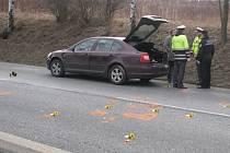 Pondělní odpolední nehoda na I/3 zablokovala provoz do 16.30 hodin.